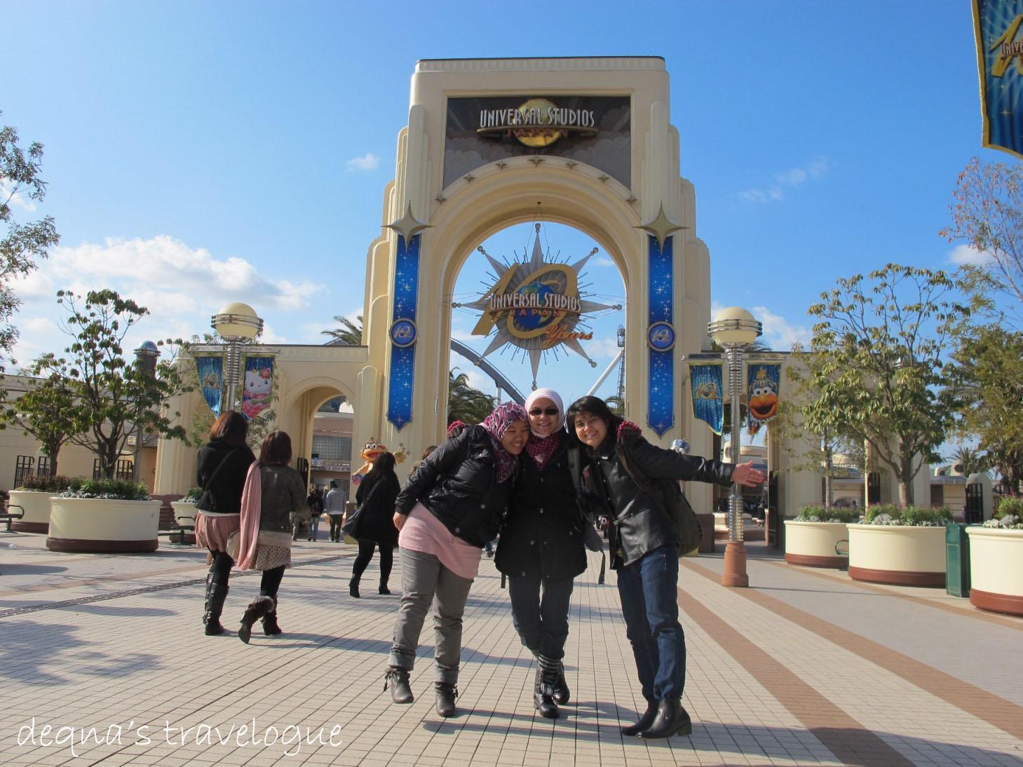 Memorable Trip To Universal Studio Japan Journey Of Life