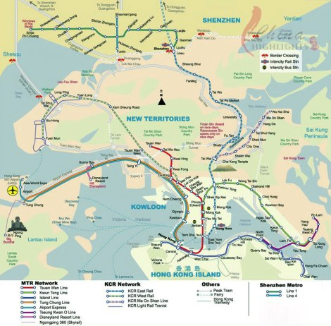 Hong Kong Rail Network
