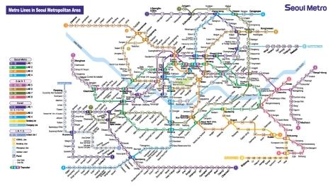 Seoul Rail Network