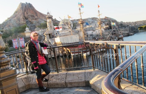 at Tokyo Disneysea.. the only one in the world..