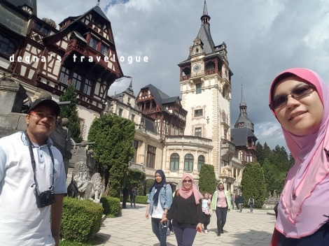 The Peles Castle of Sinaia, Romania, May 2016