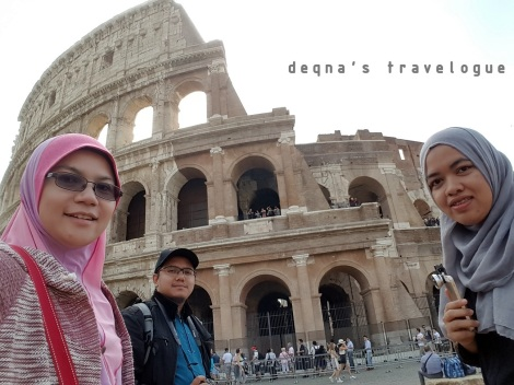 The Colosseum of Rome, May 2016
