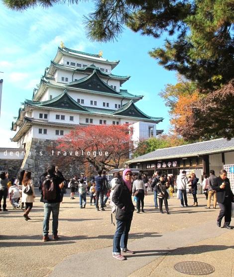 Nagoya Castle, November 2014